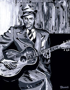 HWY101BLUES ~ ROBERT JOHNSON ~ STEADY ROLLIN MAN ~ CANVAS PRINT ~ 16x20