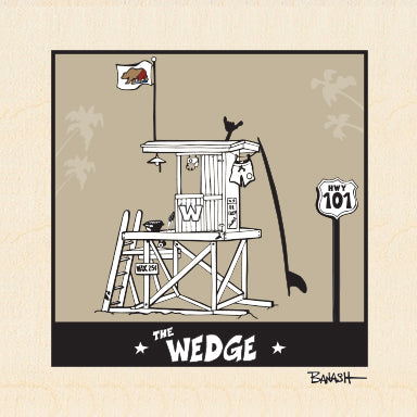 THE WEDGE ~ TOWER ~ 6x6