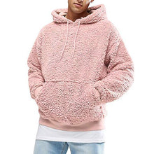 Load image into Gallery viewer, Plush Hooded Men's Sweater