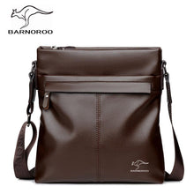 Load image into Gallery viewer, Fashion Business PU Leather Zipper Men's Single Shoulder Bag, High Quality Fashion Soft Leather Men's Crossbody Bags