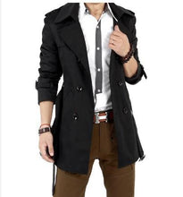 Load image into Gallery viewer, Classic Mens Wind Coat