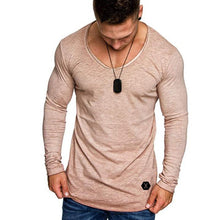 Load image into Gallery viewer, Loose N' Comfy Men's Long Sleeve Tshirt 100% Cotton