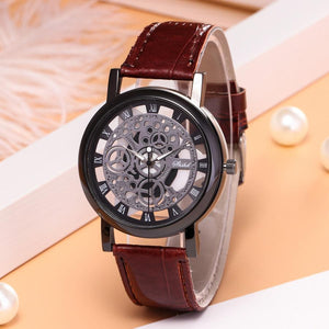 Mens Fashion Skeleton Watch