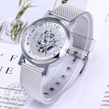 Load image into Gallery viewer, Metallic Mens Fashion Skeleton Watch
