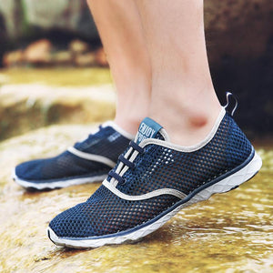 Super Breathable Mens Walking Shoes
