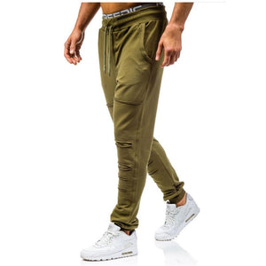 Shredded Casual Pants