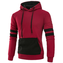 Load image into Gallery viewer, Contrast Casual Hoodie