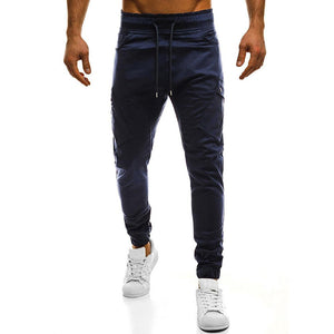 Large Pockets Jogger Pants