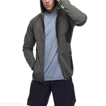 Load image into Gallery viewer, Casual Outdoor Bodybuilding Plain Zipper Outwear