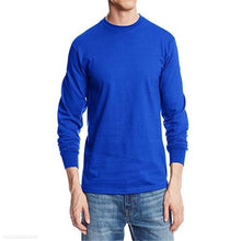 Load image into Gallery viewer, Fashion Youth Loose Plain Round Neck Long Sleeve Top