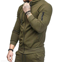 Load image into Gallery viewer, Fashion Youth Casual Plain Zipper Long Sleeve Outerwear