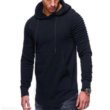 Load image into Gallery viewer, Fashion Youth Casual Loose Plain Long Sleeve Men Hoodie