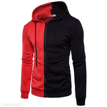 Load image into Gallery viewer, Men's 2-Color Stitching Hoodie