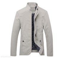 Load image into Gallery viewer, Mens Stand Collar Jacket