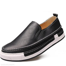 Load image into Gallery viewer, Fashion Youth Business Casual Plain Leather Mens Shoes