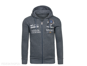 Leisure Sports Cardigan Hoodie