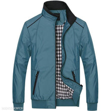 Load image into Gallery viewer, Blue And Green Light Mens Jacket