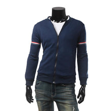Load image into Gallery viewer, Mens Light Navy Blue/White Jacket