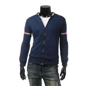 Mens Light Navy Blue/White Jacket