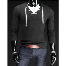 Load image into Gallery viewer, Best Seller Men's V-Neck Long Sleeve T-Shirt