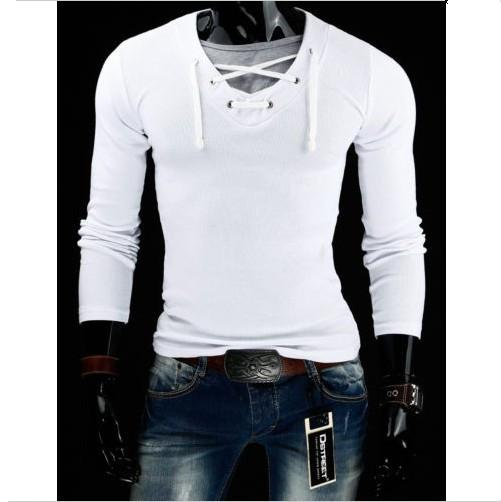 Best Seller Men's V-Neck Long Sleeve T-Shirt