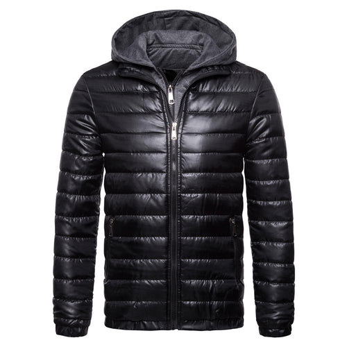 Fashion Plain Winter Slim Down Jacket