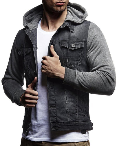 Fashion Casual Mens Denim Jacket