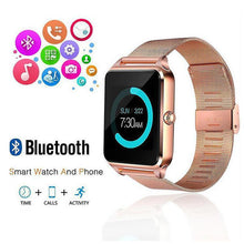 Load image into Gallery viewer, Z60 Steel Belt Smart Watch Bluetooth Smart Wear Card Phone Watch