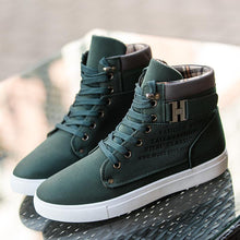 Load image into Gallery viewer, Autumn Leather Footwear  High Top Casual Boots