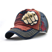 Load image into Gallery viewer, Fashion Hot Sale Jacquard Weave Color Block Baseball Cap