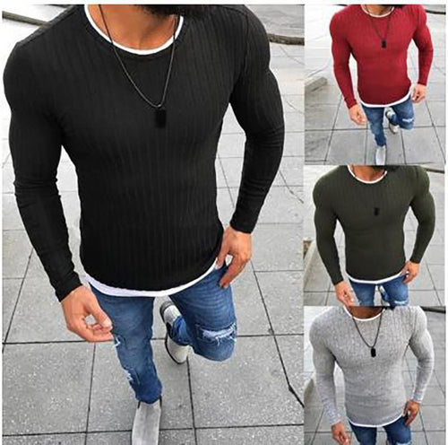 Fashion Mens Knitted Sweater