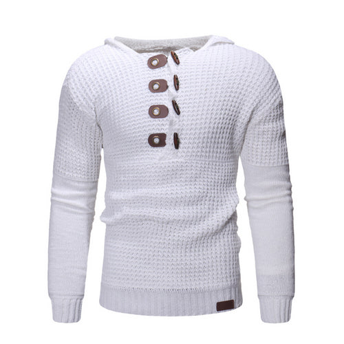 Fitness Casual Winter Button Sweaters