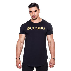 Muscular Frat Athletic Fitness Tight Running Pure Cotton T-Shirt