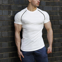 Load image into Gallery viewer, Men Fashion Casual Quick-Drying Stretch T-Shirt