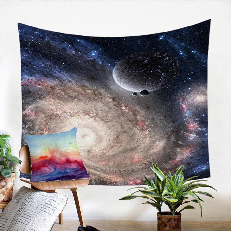 Lets Go To Space Tapestry