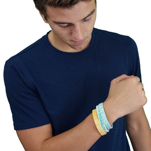 Pack of 3 ITD Rubber Bracelets