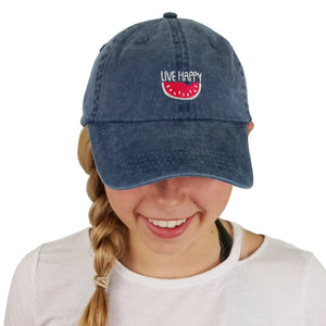 Live Happy Baseball Cap