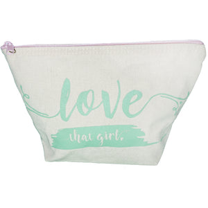 Love That Girl Zippered Pouch