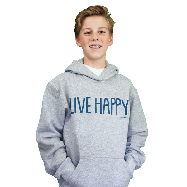 Live Happy Hoodie (Adult + Child)