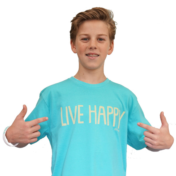 Live Happy Short Sleeved T-Shirt (Child)