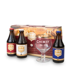 Chimay Gift Set 3 x 330ml and a glass