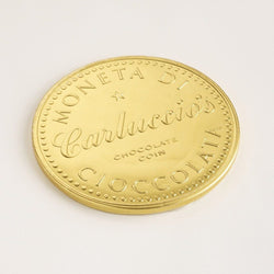 Carluccio's Moneta di Cioccolata – Large Chocolate Coin 80g