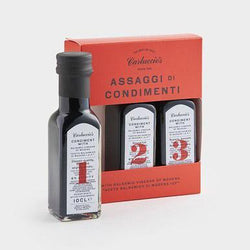 Carluccio's Trio of Balsamic Vinegar of Modena 3 x 10cl
