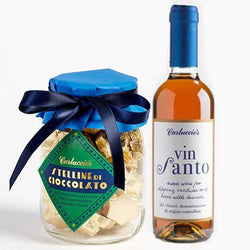 Carluccio's Vin Santo and Chocolate Stars