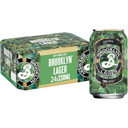 Brooklyn Lager Can 330ml x 24