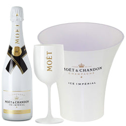 6 x Moët & Chandon Ice Imperial Champagne plus Free Acrylic Glasses and Ice Bucket