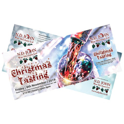 Christmas Tasting Ticket