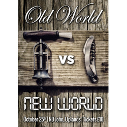 Old World vs New World - 25th October 2019