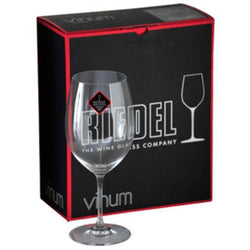 Riedel Vinum Bordeux Glass - Set of 2