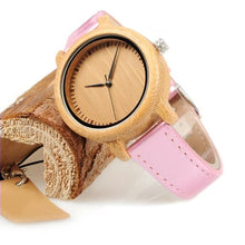 Redbud - Woodtree Watches Personalised Wooden Watch